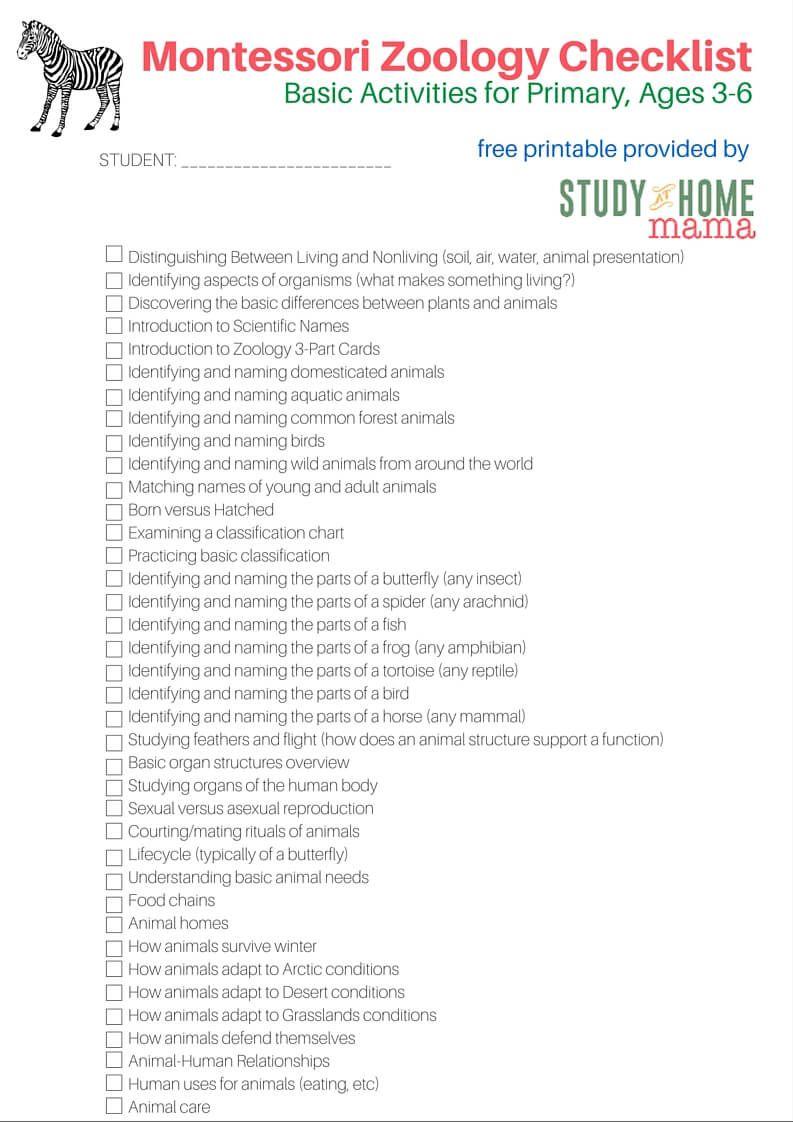 Montessori Culture 3-6 Checklists   Curriculums, Montessori y El bebe