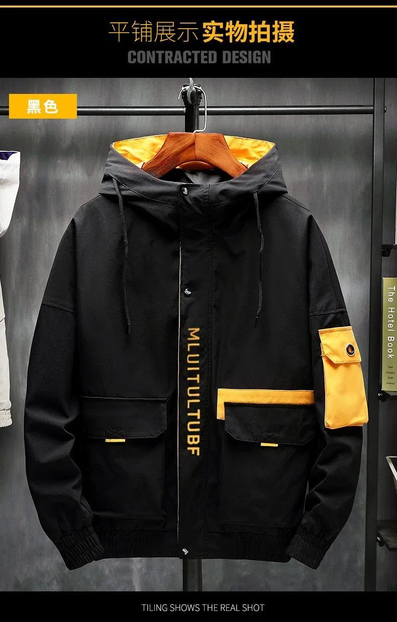 Photo of Hochwertige Jacken Männer Herbst Winter lose koreanische Mode