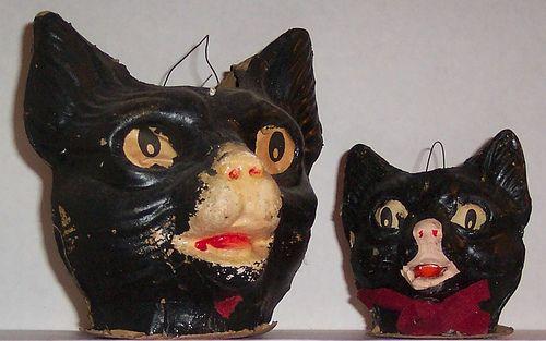 Vintage Halloween Decorations CATS! Pinterest Vintage