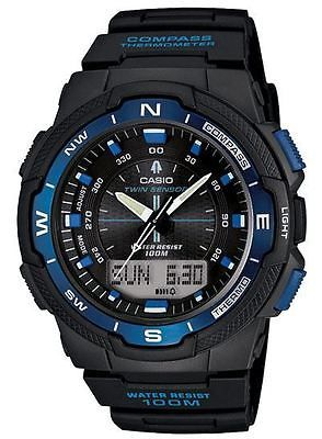 Other Wholesale Wristwatches 40133: Casio Outdoor Twin Sensor-Compass With Needle Pointer Therm-Blue, : Sgw500h-2Bv -> BUY IT NOW ONLY: $69.49 on eBay!