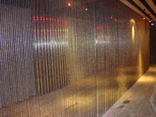 Lovely Metal Bead Curtain