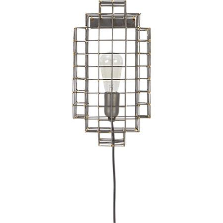 Cage Sconce In Pendant Lamps Wall Sconces Cb2 Outdoor