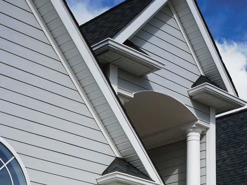 Certainteed Vinyl Soffit System Siding Projects And
