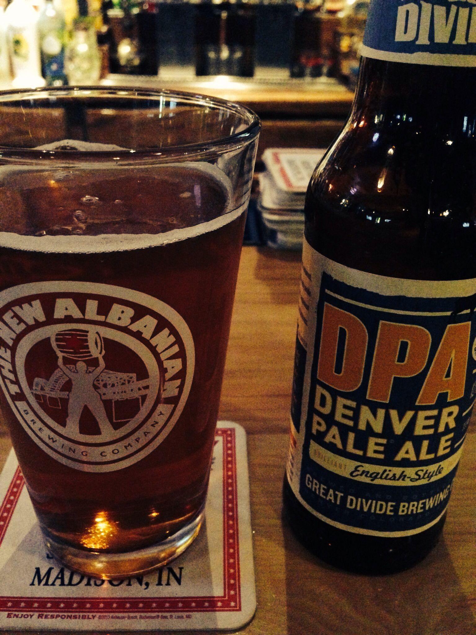 Great divide denver pale ale pale ale ale beer bottle