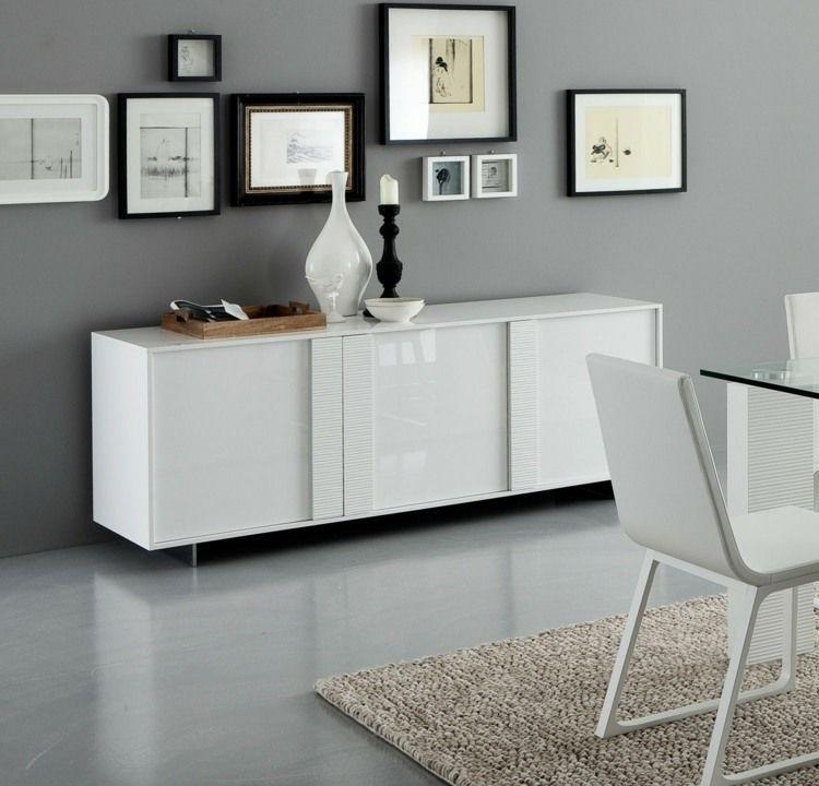 Ein Sideboard In Weiß Mit Hochglanz   Fronten Zählt Unbestritten Zu Den  Absoluten Möbel Klassikern. Das Möbelstück Lässt Sich Perfekt Sowohl In  Modernen,