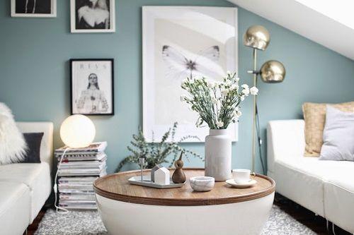 Wandfarbe Wohnzimmer Eher ins pastell mint gehend Passt zu dunklem