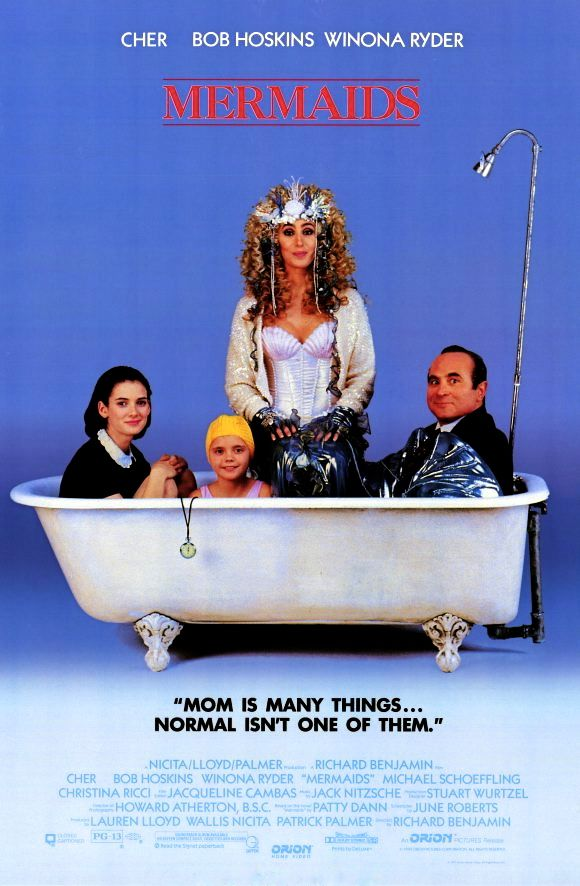 Mermaids Mermaids Movie Film Comedy Mermaid Movies Movies Good Movies