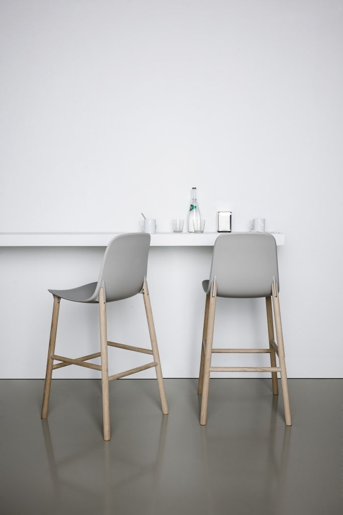Kitchen Stools With Backs Lights Menards High And Low Stool My Style Pinterest Sharky Grey Wood White Walls Floors Glass Bottle