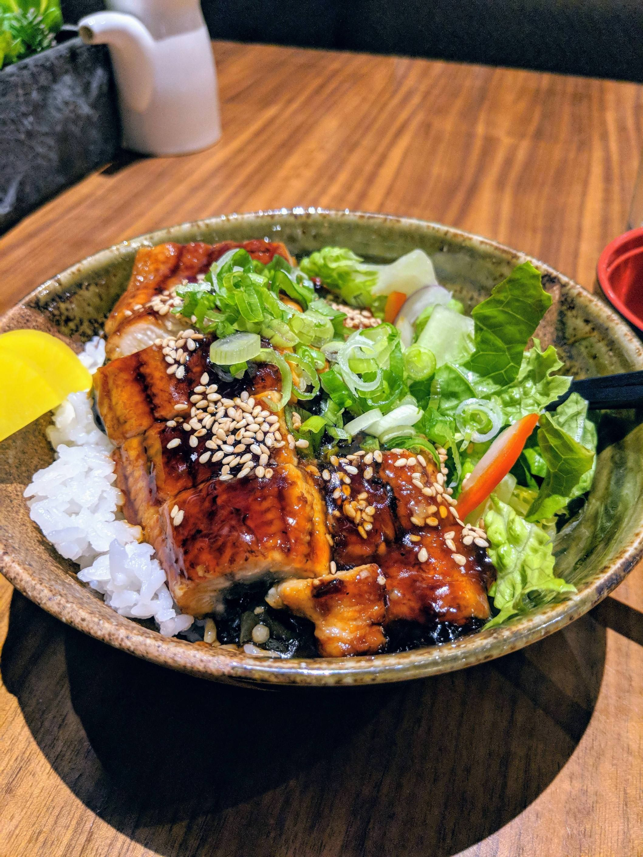 I Ate Unagi Donburi Grilled Eel Rice Bowl Food Recipes Eel