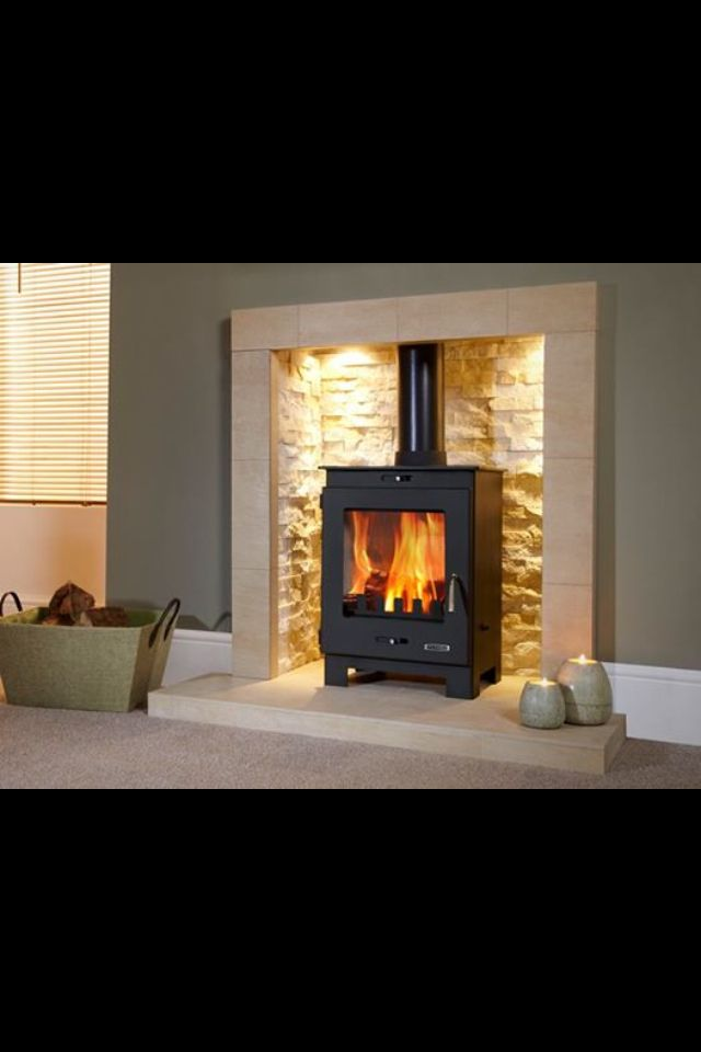 Country Style Fireplace Log Burner Living Room Home Home Living Room