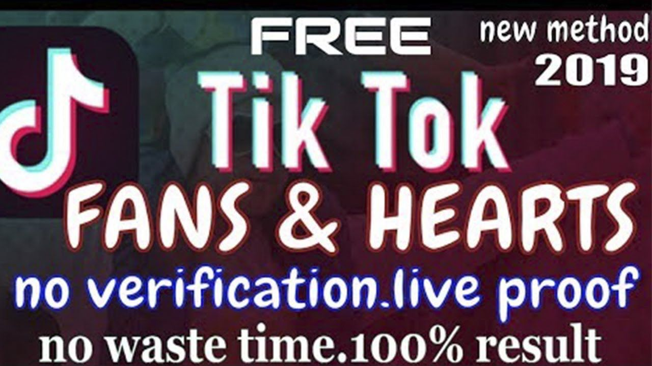 How to increase unlimited tiktok hearts and fans tiktok