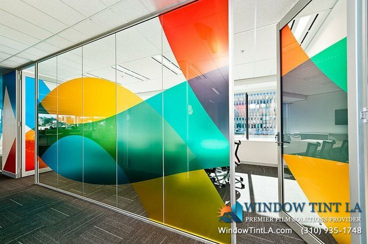 Window Graphics For Your Business Window Tint Los Angeles Glass Wall Design Office Wall Graphics Window Graphics