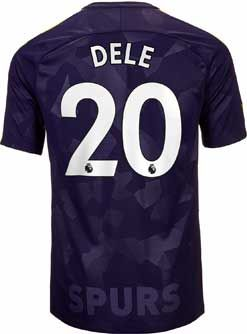 c811e8fe7 2017 18 Nike Dele Alli Tottenham 3rd Jersey. Buy it from SoccerPro ...
