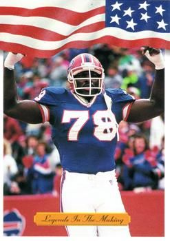 1992 All World #6 Bruce Smith Front