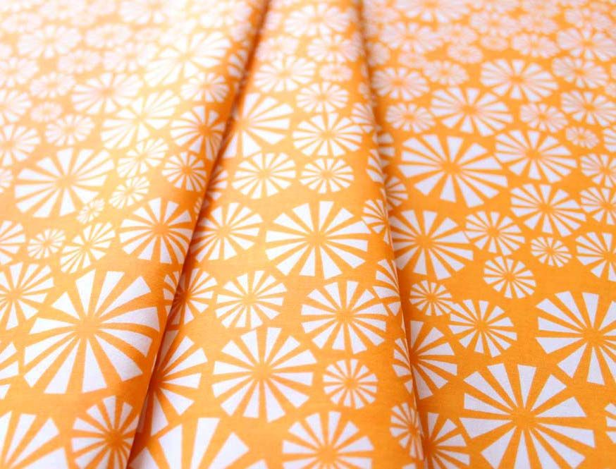 birch fabrics Marine Too Urchin Forest Sunset