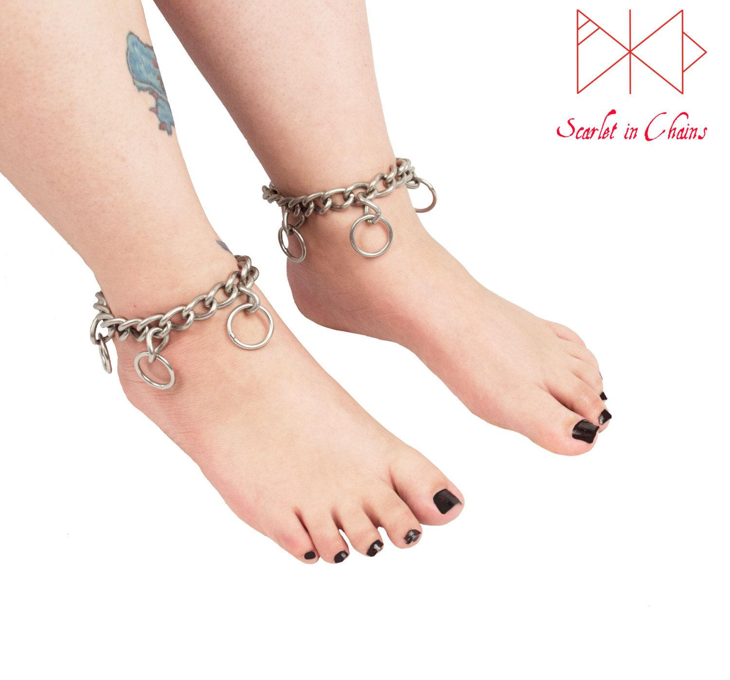 mikey anklet tone gold d h samuel self product cubic bracelet rose zirconia locking webstore number