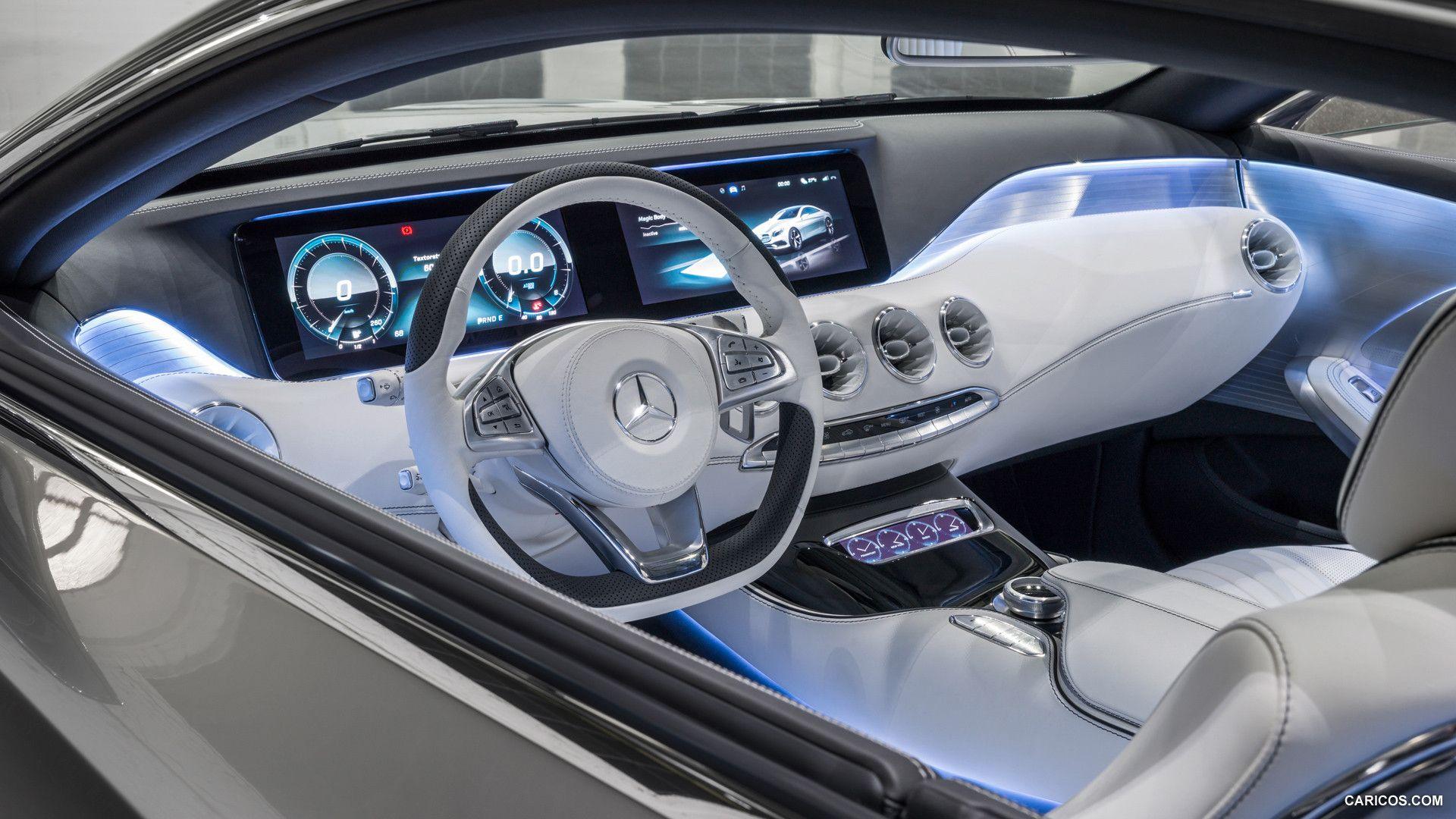 2013 Mercedes Benz S Class Coupe Concept Wallpaper Mersedes Bens