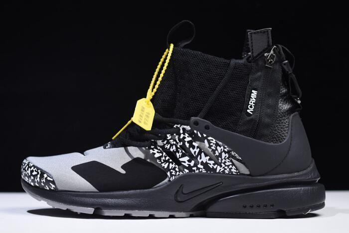 """sports shoes 7cd49 efaf1 Acronym x Nike Air Presto Mid """"Cool Grey"""" AH7832-001"""
