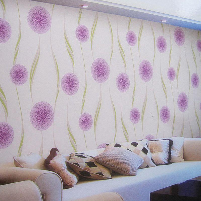 Greenbrier wallpaper modern minimalist style wallpaper background wallpaper bedroom sofa TV wall Cheap 3