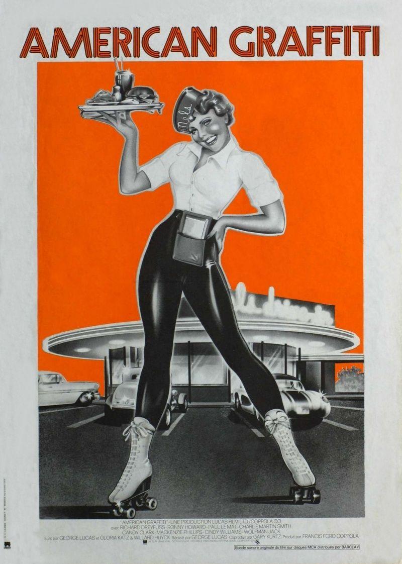 Movie Posters 1970 American Graffiti Is A Wonderful Ride Take It Blog The Film