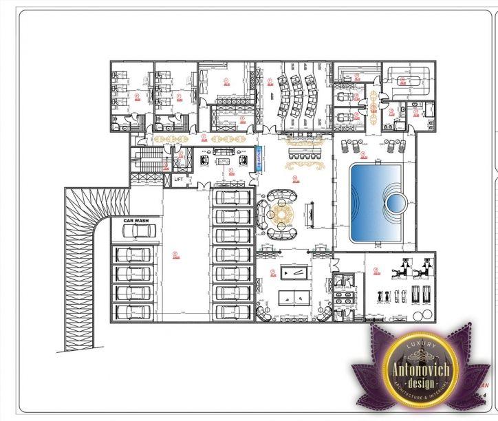 Luxury Mansion Floor Plans: Luxury House Plans In UAE By Antonovich Designs