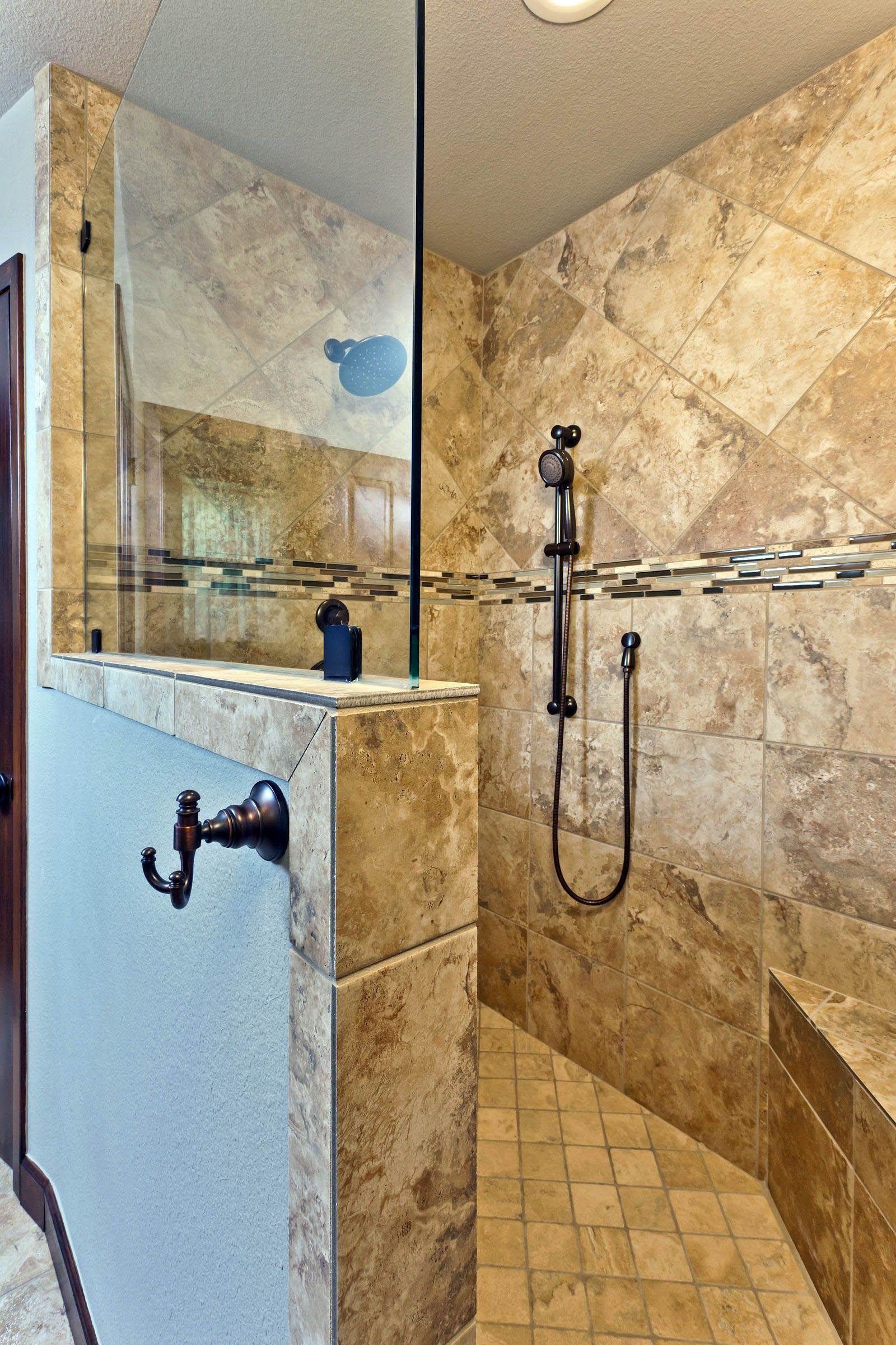 16 Walk In Shower Tile Ideas That Will Inspire You Tile Walk In