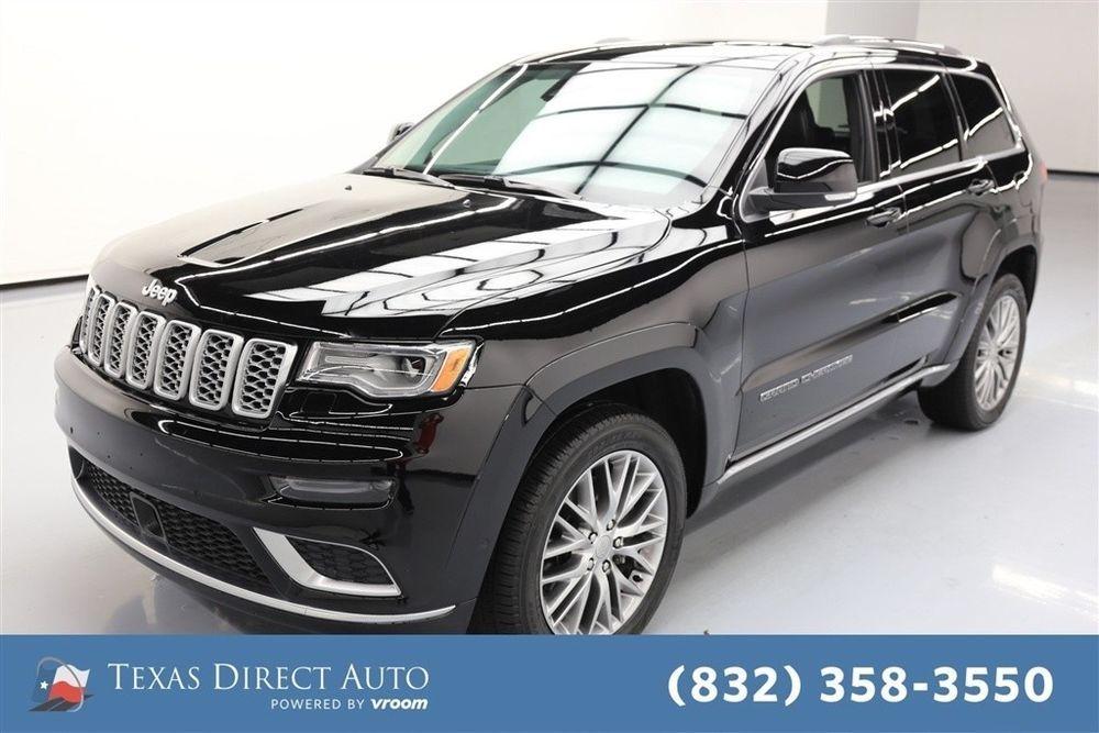 Ebay 2017 Jeep Grand Cherokee Summit Texas Direct Auto 2017