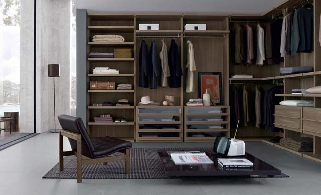 Bedroom Wardrobe Design Ideas With Closet Brilliant Classic Wooden ...