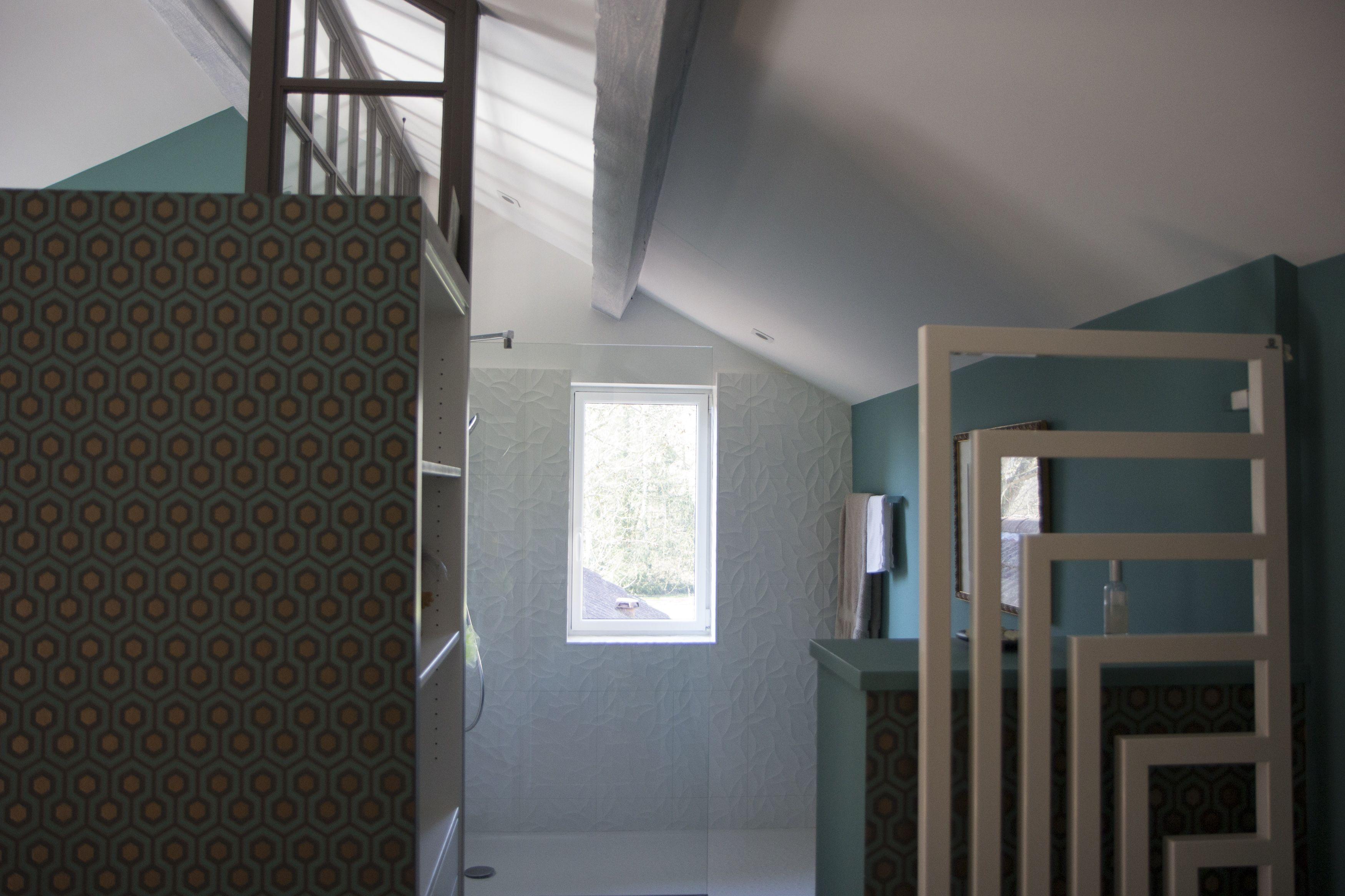Merveilleux Rénovation Maison De Campagne, Salle De Bain Dans Chambre, Suite Parentale,  Verrière,