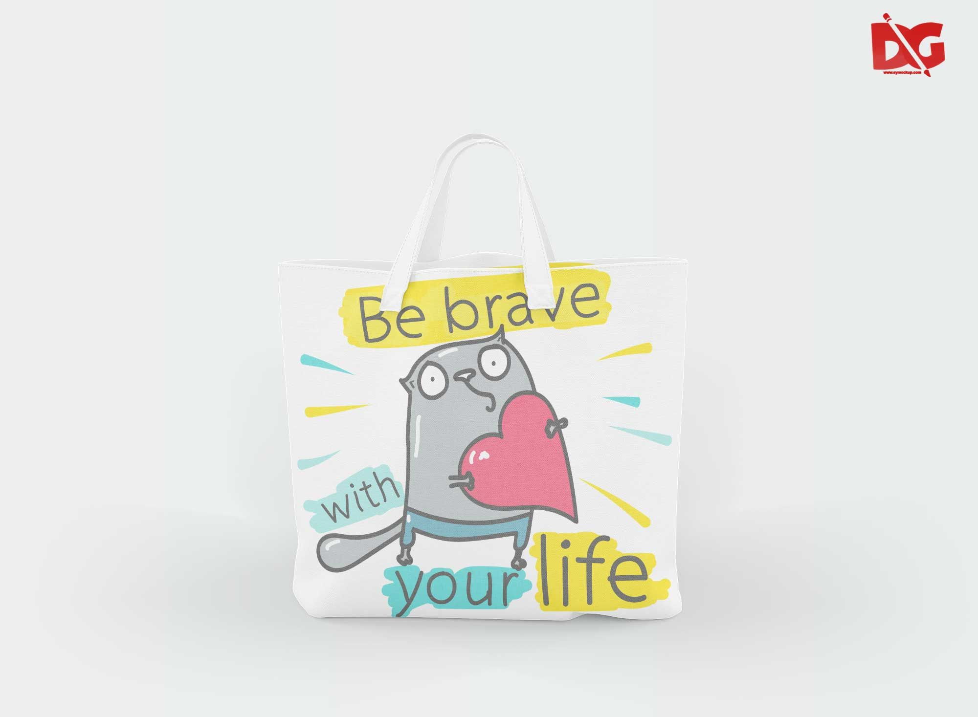 Download Free Cotton Tote Bag Mockups Bag Mockup Free Logo Mockup Free Mockup