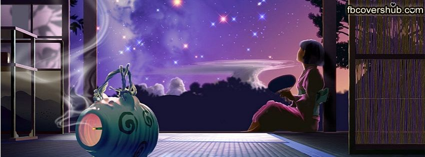 Beautiful Sky and a Girl Fb Cover Facebook Timeline Cover ...
