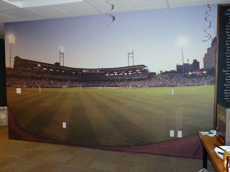 Ltl Prints Blog Baseball Theme Room Baseball Stadium Stadium Wallpaper