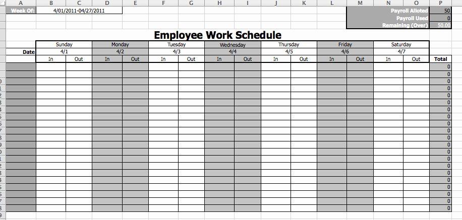 Monthly Employee Schedule Template Beautiful Line Schedule Maker Work Schedule Template Schedule Template Work Schedule Template Work Schedule
