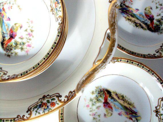 Vintage Noritake,Morimura Bros, 1920 Porcelain,Chelsea Pattern, U.S.Pat.,