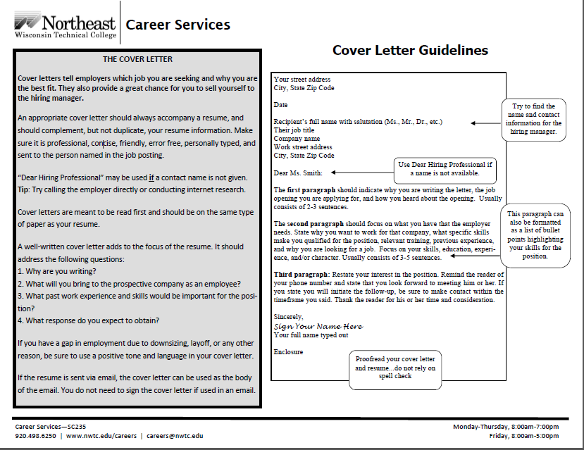 Use These Guidelines When You Are Writing Your Cover Letter
