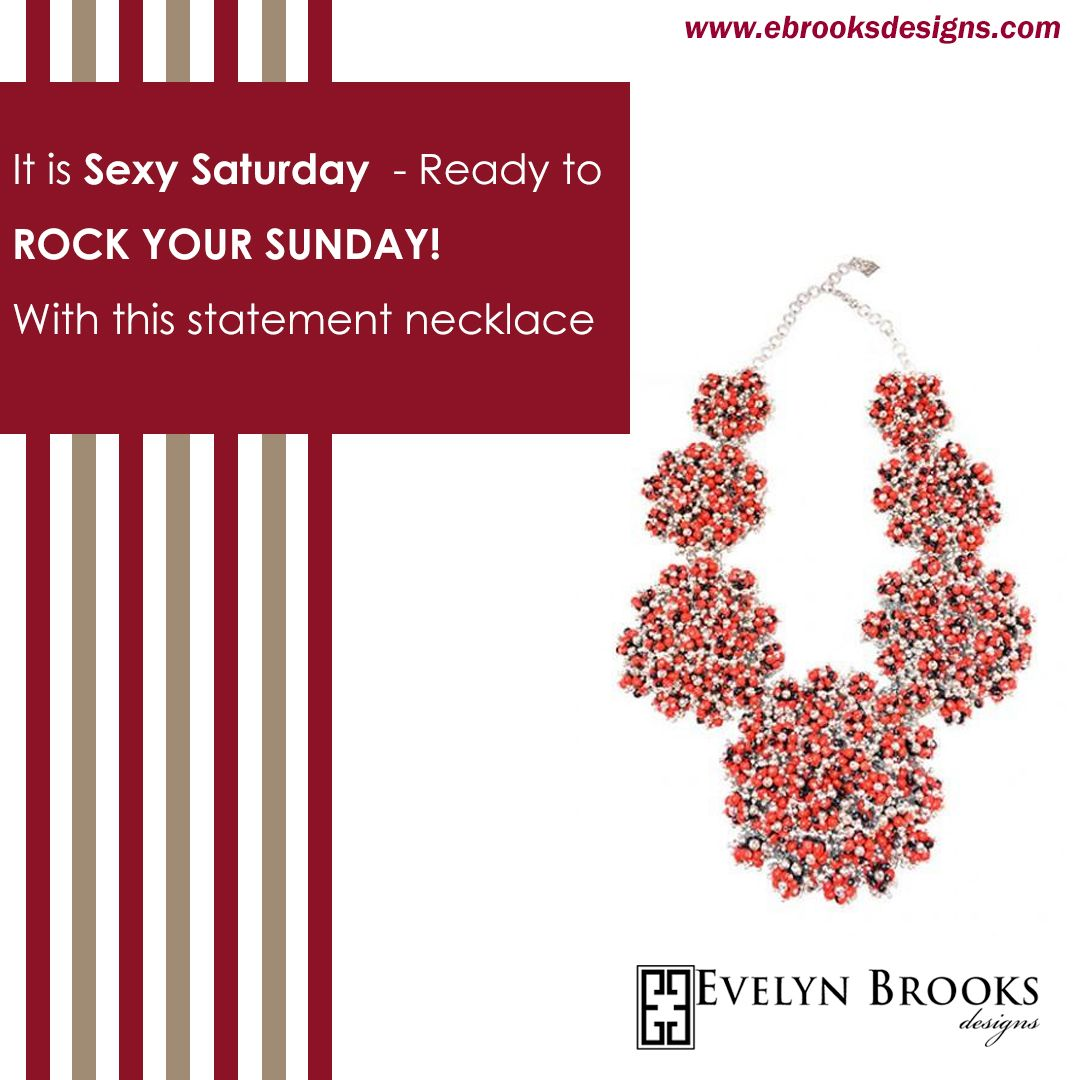 It is sexy Saturday - Ready to rock your Sunday! with this statement necklace.  #happyshopping #earlychristmas #birthdaygifts  #EthicalFashion #Handmade #sustainablefashion #mompreneur #latinamoms #Peruvianjewelry #myEBDstyle #Evelynbrooksdesigns #ecofriendly #jewelry #peru #Huayruros #ecochic #etsysellers #etsymom #etsymakers #handmadeatamazon #styledonamazon #dcartists #bythings #dcarts #madeindc #shopethical #latinapower #stylede