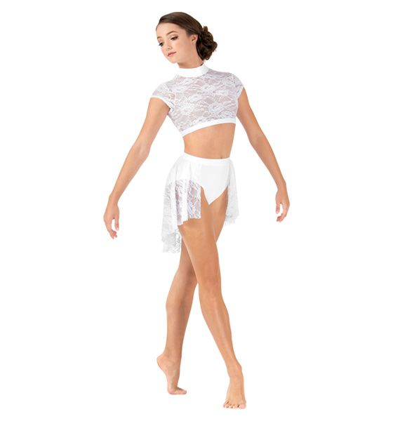 1dfbc186191 Adult Back Drape Lace Half Skirt in 2019 | New Body Wrappers ...
