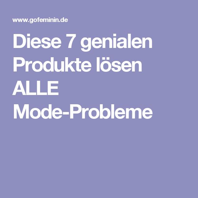 Diese 7 genialen Produkte lösen ALLE Mode-Probleme