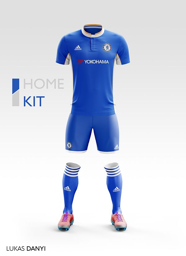 9497fe692 I designed football kits for Chelsea FC for the upcoming season 17 ...