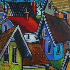 Paintings Of Houses Google Search