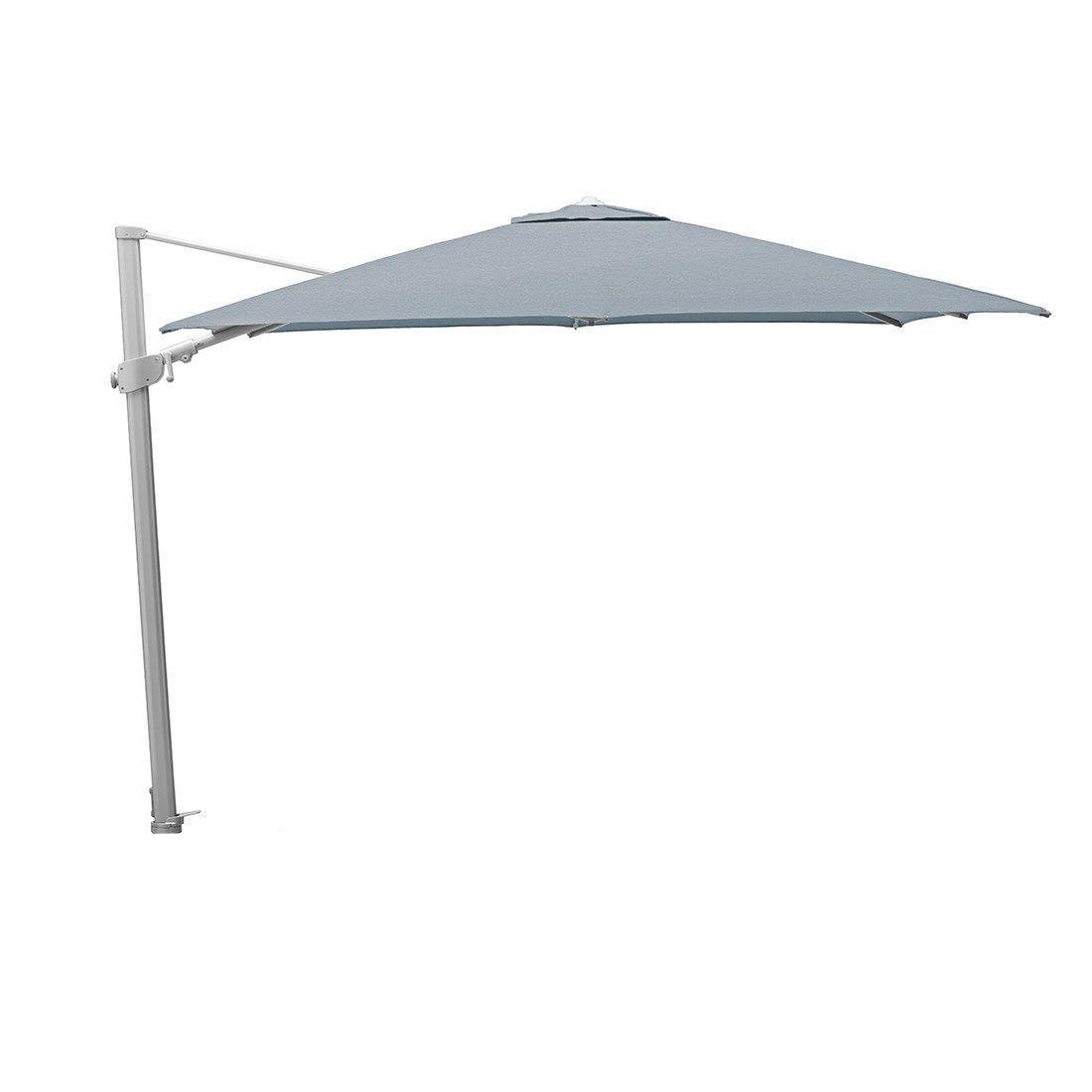 Kettler Easy Swing Ampelschirm 300x300cm Inkl Stander Silber Grau Silber Grau Garten Und Freizeit Ampelschirm Graue Garten Sonnenschirm Ampelschirm