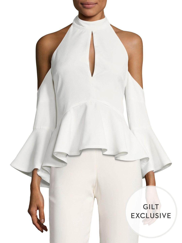 C/MEO COLLECTIVE Oblivion Peplum Top   women\'s fashion   Pinterest ...