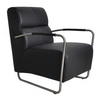 leder design fauteuil island - Fauteuil Stainless