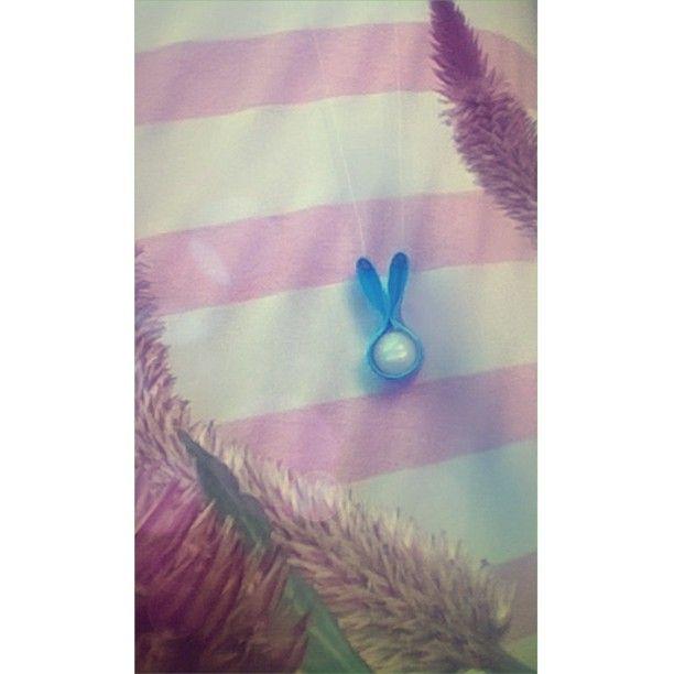 Na páscoa o coelho da ovos, mas na reciclagem a embalagem da o coelho!! ♻ #photography #eco #fashion #girl #cute #nature #life #kawaii #ecobiju #ulzang
