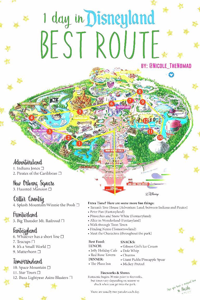 Photo of 1 day in Disneyland – The Best Route