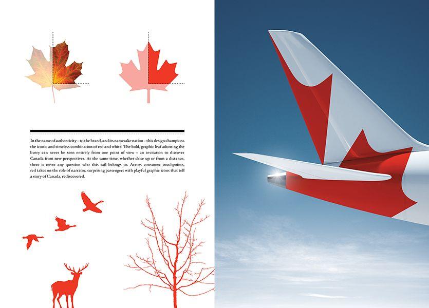 Air Canada Livery (and identity) / Sid Lee \u003e graphic \u003e Pinterest - plan maison 3d gratuit