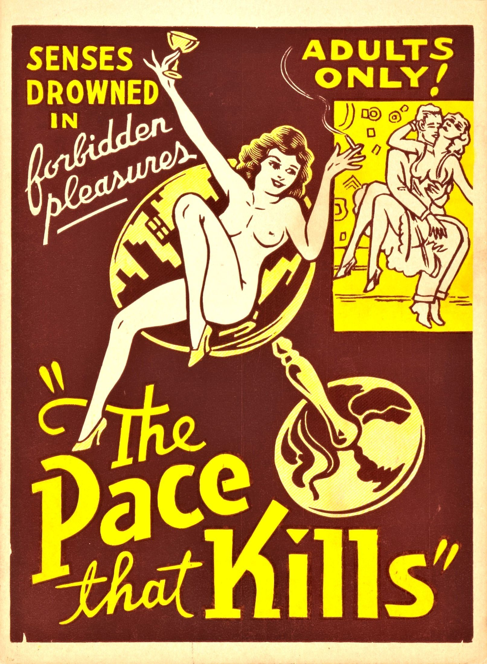 The Pace That Kills (aka The Cocaine Fiends) 1928. USA