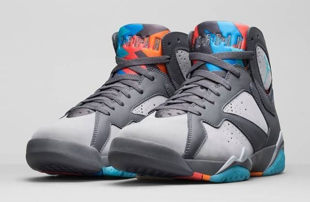 Nike Men s Air Jordan Retro 7 VII Bobcats Barcelona Days Size 8-11 With  Receipt  Nike  AthleticSneakers 7ad8f7e36