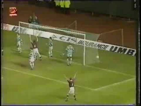 Celtic V Hearts 25 11 1995 Celtic John Collins Soccer Field