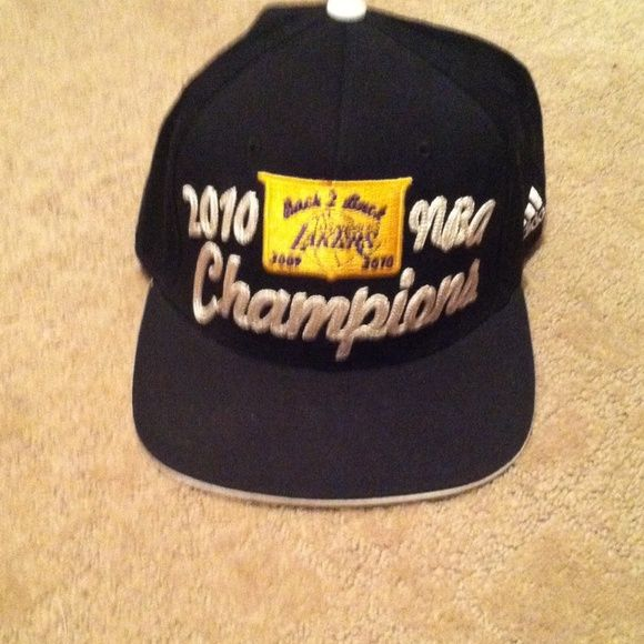 sneakers for cheap c77da f5f0c Lakers hat Lakers 2010 NBA champions hat, one size fits all Other